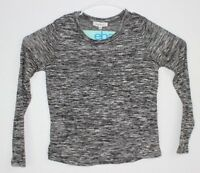 Cloud Chaser Women's Sweater Pullover Gray Size M Long Sleeve Crew Neck NWT