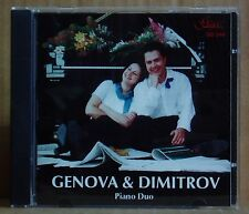 CD Genova & Dimitrov pianoforte Duo prikofiev Ravel GERSHWIN... Gega New 2001
