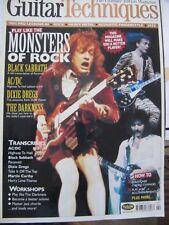 Guitar Techniques Feb 2004 mag cd vgc