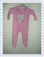 Pyjama Grenouillère Polaire Rose Me to You Tiny Tatty Teddy Taille 9 - 12 Mois