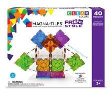 Magna-Tiles 40 Piece Freestyle Set Magnetic Building Creativity Educational