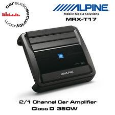 Alpine MRX-T17 - 2/1 Canali AUTO AMPLIFICATORE CLASSE D AMPLIFICATORE 350W