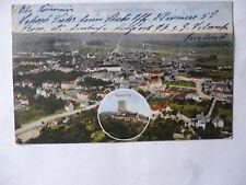 Ansichtskarte Durlach Blick vom Turmberg 1917 Feldpost Karlsruhe