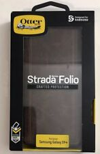 SAMSUNG GALAXY S9+ Otterbox Strada Folio Wallet Leather Case Cover NEW