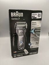 BrAun Series 7 Wet & Dry Shaver with Clean & Charge System, 7898cc NIB Worn Box