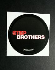 """STEP BROTHERS RED BLACK NAME TITLE MOVIE SMALL 1.5"""" GET GLUE GETGLUE STICKER"""