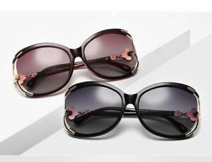 Quality Women Polarized HD Lens Coating Sunglasses Cut Out Design Eyeglassses
