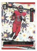 Chris Godwin SP Card 2019 Unparalleled Impact #147 SN #d/75 Tampa Bay Buccaneers