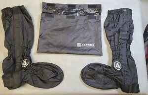 Acerbis Rain Boot Covers Black Men's Size 2XL~ Used