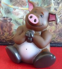 Real Nice Kid's Funny Happy Piggy Bank 2008 ! Plastic Cake Topper