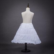 New Dressever Petticoat Half Slip Flower Girl Crinoline Skirt Brida Slip Gift