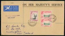 Mayfairstamps Swaziland 1962 Mbabane to New Zealand Registered Airmail Cover wwh