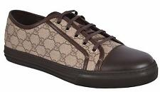 NEW Gucci Men's 309462 GG Supreme Low Top Sneaker Trainers Shoes 14.5 G 15.5 U.S