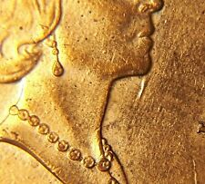 ERROR COIN 1999 Canada 1 Cent Die Damage Under Chin Penny P95
