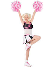 Morris Costumes Women's Sexy Playboy Cheerleader Lycra Costume S. FW102404SM