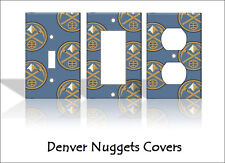 Denver Nuggets Light Switch Covers Basketball NBA Home Decor Outlet