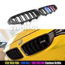 Carbon Fiber Front Grill Grille For BMW 4 Series F32 F33 F36 F80 M3 F82 F83 M4