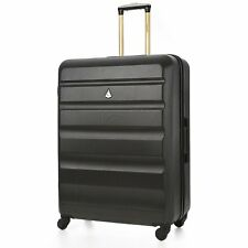 """Aerolite Large 29"""" Hard Shell 4 Wheel Hold Check In Luggage Suitcase Charcoal"""