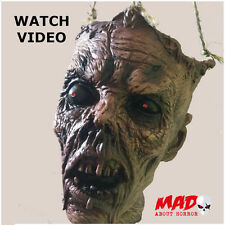 Animated Decomposing Zombie Head - LIGHT UP + SOUND Halloween Party Decoration