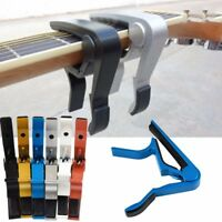 Change Key Capo Clamp for Electric Acoustic Guitar Quick Trigger Release AU
