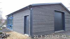 DELTACON Isolierte Stahlhalle/ Garage 10 x 10 x 3/ 4,30 m  NEU!!
