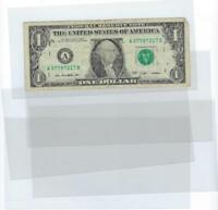5 pc Dollar Bill Currency Note Ticket Protector Sleeve Display Holder USA SELLER