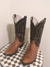 REMINGTON VINTAGE WESTERN ROCKABILLY COWBOY RANCH BOOTS 11.5D