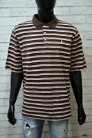 Maglia Uomo RALPH LAUREN GOLF Taglia XL Polo Maglietta Manica Corta Shirt Righe