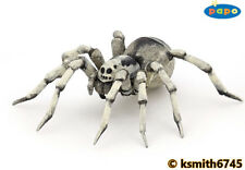 Papo TARANTULA solid plastic toy wild animal insect bug SPIDER * NEW *💥