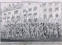 Journée du 20 Juin 1792 Révolution Française Paris Faubourg Saint Antoine