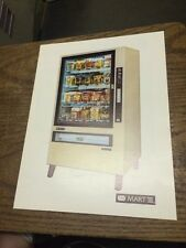 Vendmart MART 3 SNACK VENDING MACHINE flyer- original