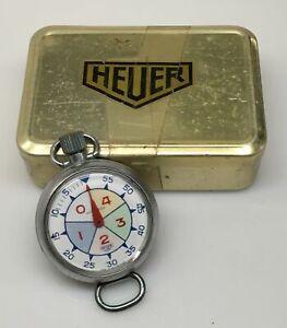 1962 HEUER Yacht Timer Wrist/Stopwatch REF: 33.512 in Original Box
