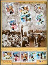 2000 FRANCE BLOC N°29** LE SIECLE AU FIL DU TIMBRE SPORT BOXE SKI SHEET SC 2769