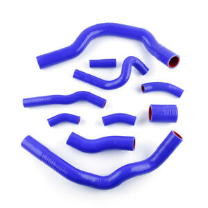 For BMW MINI COOPER S R52 R53 2001-2006 Blue Coolant Silicone Radiator Hose Kit