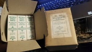 Vintage Welsbach Unmounted Mantle 8ME 813 New Old Stock!