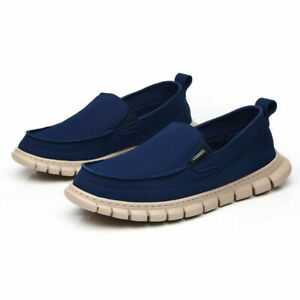 Men's Shoes Flats Shoes Lightweight Slip On Moccasin Loafers Slip Casual Shoes