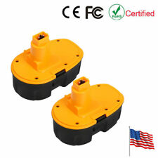 2PCS 18volt 2000mAh NiCD Replacement Battery for Dewalt DC9096 DC9099 Pod-Style