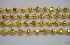 20k gold beads chain necklace gold jewelry from rajasthan india ERT EHS