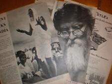 Article Vinoba Bhave the teacher India 1954
