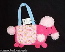 Nabco North American Bear Co. Pink Poodle Goody Bag Purse (6101) New!