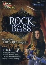 Learn Rock Bass - Beginner, Rock House Method (DVD, 2008)