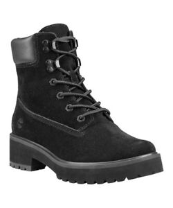 Timberland Carnaby Cool 6 Inch Boot Black Suede Size 8.5