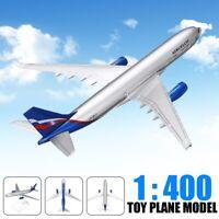 1:400 Scale A330-200 Aeroflot Airplane Model Aircraft Aeroplane Toy 16cm
