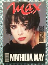 MAX French 05/1990 Mathilda May (poster) Connery Kravitz Zeta Jones Mc Gillis