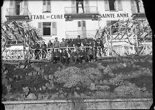 Alsace Jungholtz établissement Ste Anne ancien négatif photo plaque verre c.1930