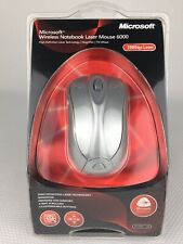 Microsoft Wireless Notebook High Definition Laser Technology Mouse 6000 USB