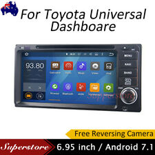 6.95 inch Quad Core Android 7.1 Car DVD GPS Navi Head Unit For Toyota Universal