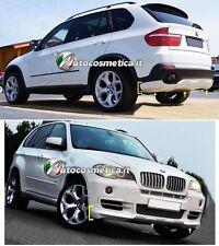 BMW X5 E70 2007-2011 BODY KIT SPOILER SOTTO PARAURTI ANTERIORE E POSTERIORE