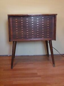 Electrophonic All Transistor Cabinet Audio Phonograph