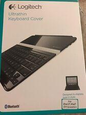 Logitech Ultrathin Wireless Bluetooth Keyboard/Cover Case iPad